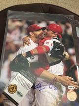Carlos Ruiz Philadelphia Phillies World Series Signed Autographed Photo ... - $30.00