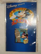 Italy Stamp Mickey Mouse Disney Pin 12 Months of Magic Retired NIP #11460 - $13.99