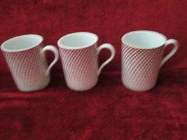 Haldon Group Devonshire set of 3 mugs rooster  - $24.70