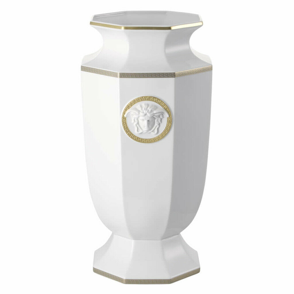 "Primary image for Versace by Rosenthal Decoration series Gorgona Vase 55 cm/21"" inches"