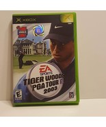Tiger Woods PGA Tour 2003 Microsoft Xbox Video Game Complete - $9.00