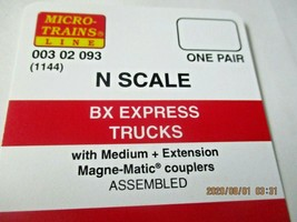 Micro-Trains Stock # 00302093 (1144) BX Express Trucks Medium Extension (N) image 1