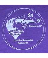 Unitarian Universalist, GA 98 t-shirt, Rochester NY, XL, 50/50 cotton/po... - $7.89