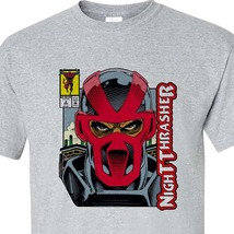 Night Thrasher T Shirt Marvel Comics New Warriors 1990's comic books graphic tee image 2