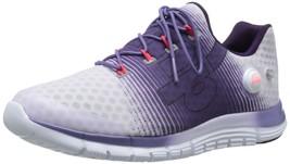 Reebok Womens Zpump Fusion Purple White Running Shoes 9.5 B(M) US NEW NIB - $116.99