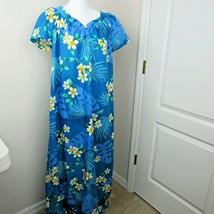 Hilo Hatti MuMu Large Maxi Dress Blue - $23.75