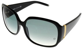 Mont Blanc Sunglasses Women Black Gray Rectangular MB221S 0B5  - $246.51