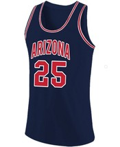 Steve Kerr College Custom Basketball Jersey Sewn Navy Blue Any Size image 4
