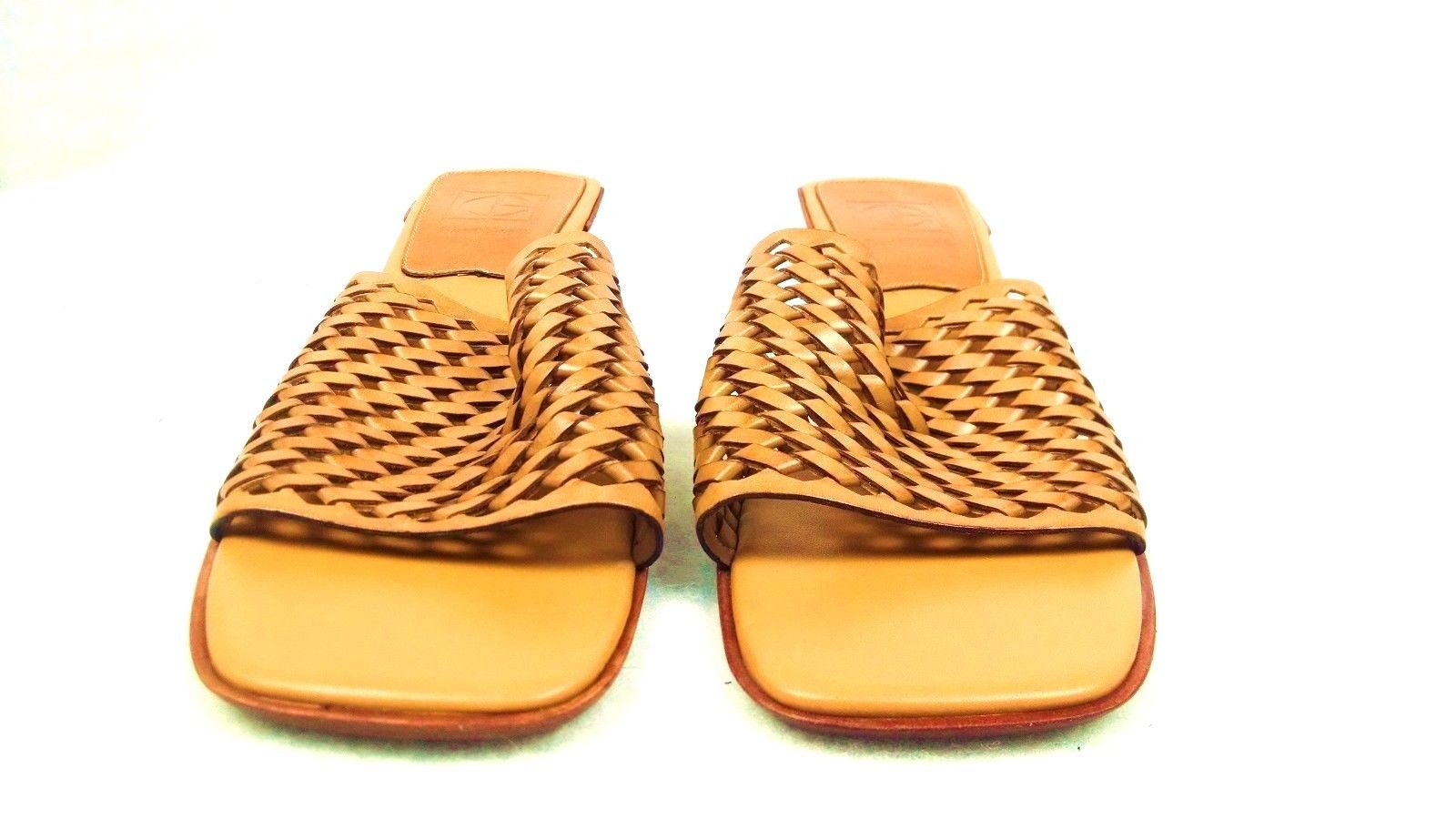 Cole Haan Womens Slides Sandals 9 1/2 B Pumps Heels Brazil Slip On Casual Summer