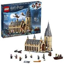 LEGOHarryPotter – Die große Halle von Hogwarts (75954) Bauset (878Tei... - $196.97
