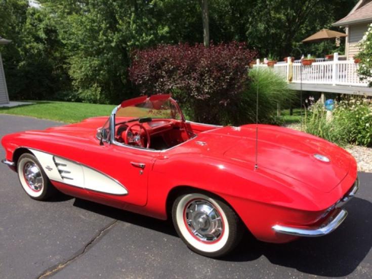 1961 Chevrolet Corvette Convertible For Sale In Byron Center MI 49315