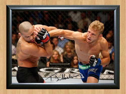 TJ Dillashaw UFC MMA Signed Autographed A4 Print Photo Print Poster Memorabilia for sale  USA