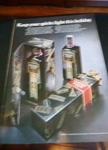 1972 Passport Scotch Ad - Keep Your Spirits Light MAN CAVE ART - $6.80