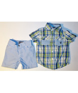 Rocawear Classic Infant Boys 2 Pc Shorts Outfit Size 12M VGUC - $13.09