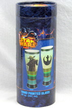 Inky and Bosco Star Wars Yoda 20 oz. Hand Painted Collectible Glass - $44.50