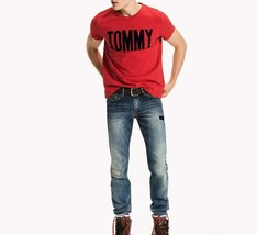 Tommy Hilfiger Mens Staten Straight Jeans Blue 30W 30L - $83.80