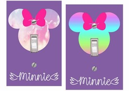 Personalized Minnie Mouse Love Light Switch Cover - $9.00