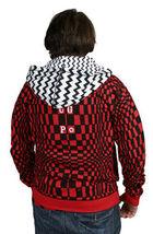 UGP Bajo Suelo Productos Bricolaje Hombre Rojo Con Sudadera con Cremallera Nwt image 4