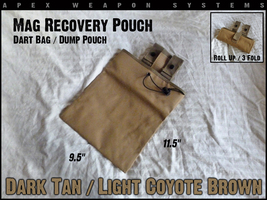 Custom NERF Gear - Mag Recovery Pouch / Dump Pouch / Dart Pouch - TAN - $7.99