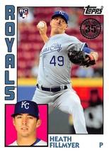 2019 Topps 1984 #T84RHF Heath Fillmyer RC Rookie Card > Kansas City Royals - $0.99