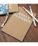KEVIN&SASA CRAFTS® Weekly Planner Notebook School Tools Stationery Planner - $6.67