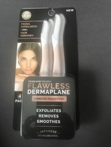 Finishing Touch Flawless Dermaplane Facial Exfoliator And Hair Remover - $11.21