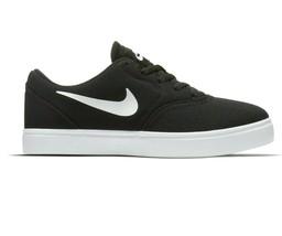 Nike SB Check Canvas (GS) Black White Grade School Skateboard Shoe 905373 003 - $44.95