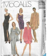 Plus Size McCall's Pattern #9678-Women's Dress-Jacket   18W-20W-22W-36-3... - $7.66