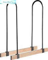 ShelterLogic LumberRack Firewood Rack Adjustable Steel Bracket Kit - $65.45