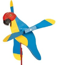 MACAW WIND SPINNER - Amish Handmade Whirlybird Weather Resistant Whirlig... - $98.40 CAD