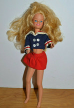 "VINTAGE SKIPPER DOLL 1978 MATTEL WITH CLOTHES 10"" TALL - $16.45"