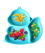 Baby Plates,Toddler Plates,Suction Plates for Babies,Portable Non Slip Blue - $24.99