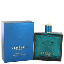 Versace Eros Cologne 6.7 Oz Eau De Toilette Spray - $90.69