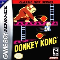 Donkey Kong Classic NES Series Gameboy Advance Cart Only - $10.95