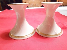 Great Collectibe Vintage Pair of LENOX Candle Holders.....SALE - $10.89