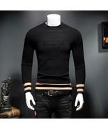 Men's Warm cashmere long sleeve sweater - $53.51+