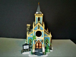 "DEPT 56 NEW ENGLAND VILLAGE ""DEACON'S WAY CHAPEL"" -MIB - $28.91"