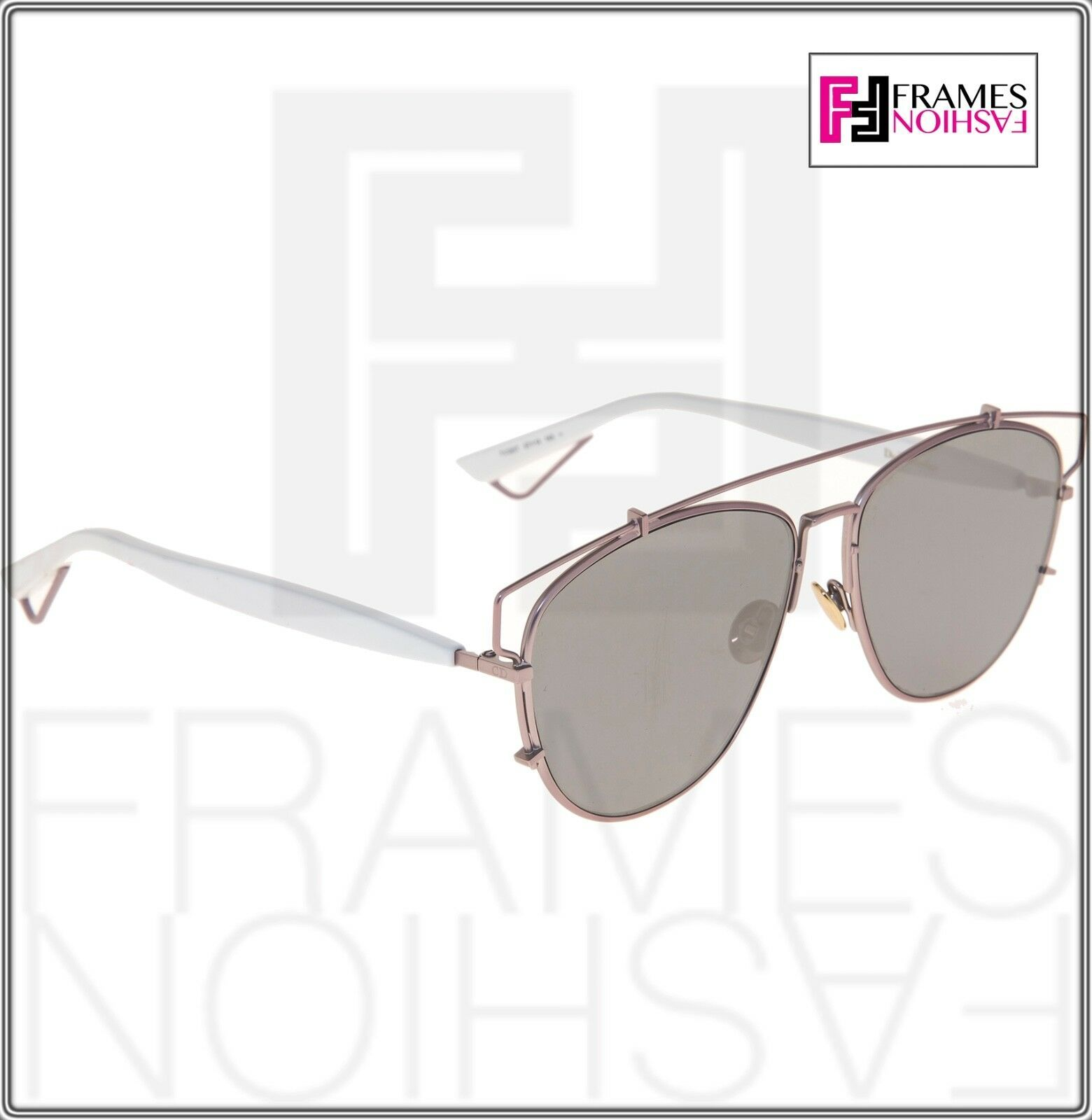 CHRISTIAN DIOR TECHNOLOGIC White Lilac Flash Mirrored Sunglasses DIORTECHNOLOGIC image 5
