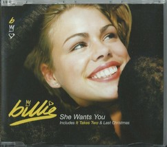 BILLIE - SHE WANTS YOU / IT TAKES TWO / LAST CHRISTMAS 1998 EU CD1 SINDX... - $12.40