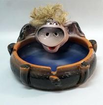CERAMIC ASHTRAY PIGGY FIGURINE PIGGY HEAD HANDMADE COLLECTIBLE CERAMICS ... - $71.20