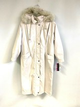 NWT JG Hook Khaki Full Length Coat Quilted Lining Thermo Loft Petite sz ... - $89.00