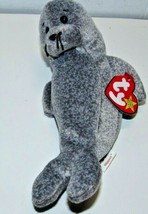 Ty Beanie Babies Original Rare Retired Slippery the Seal with Errors - £5.75 GBP