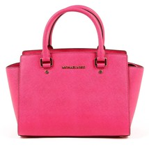 Fuxia ONE SIZE Michael Kors Womens Handbag SELMA 30S3GLMS2L RASPBERRY - $270.75