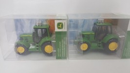 Kurt Adler John Deere Hand Crafted Glass  Christmas Ornaments Lot Brand ... - $22.77