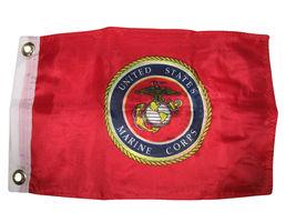 "12x18 12""x18"" Marines USMC Marine Corps Semper Fi Poly Premium Quality Flag - $22.00"