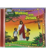 Brother Francis Walking with Jesus The Rosary prayers in song Audio CD B... - $11.64