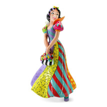 "8"" Disney Britto Snow White Figurine Stone Resin - $98.99"
