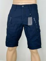 Armani Exchange Authentic Utility Zipper Detail Shorts Navy Nwt - $49.99