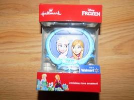 Hallmark Disney Frozen 2017 Christmas Tree Holiday Ornament Anna & Elsa New - $14.00