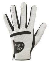 New Bionic Golf Relax Grip Golf Glove Medium Large White/Black GGRCMLML - $30.58